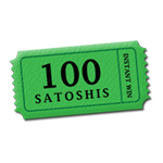 100 Satoshis Instant Win